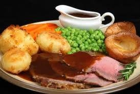 Sunday Roast served weekly noon til late.