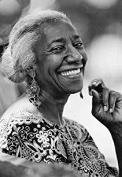 Edna Lewis et al. smiling for the camera
