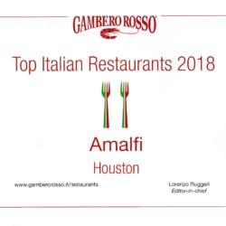 Gambero Rosso top Italian restaurant 2018