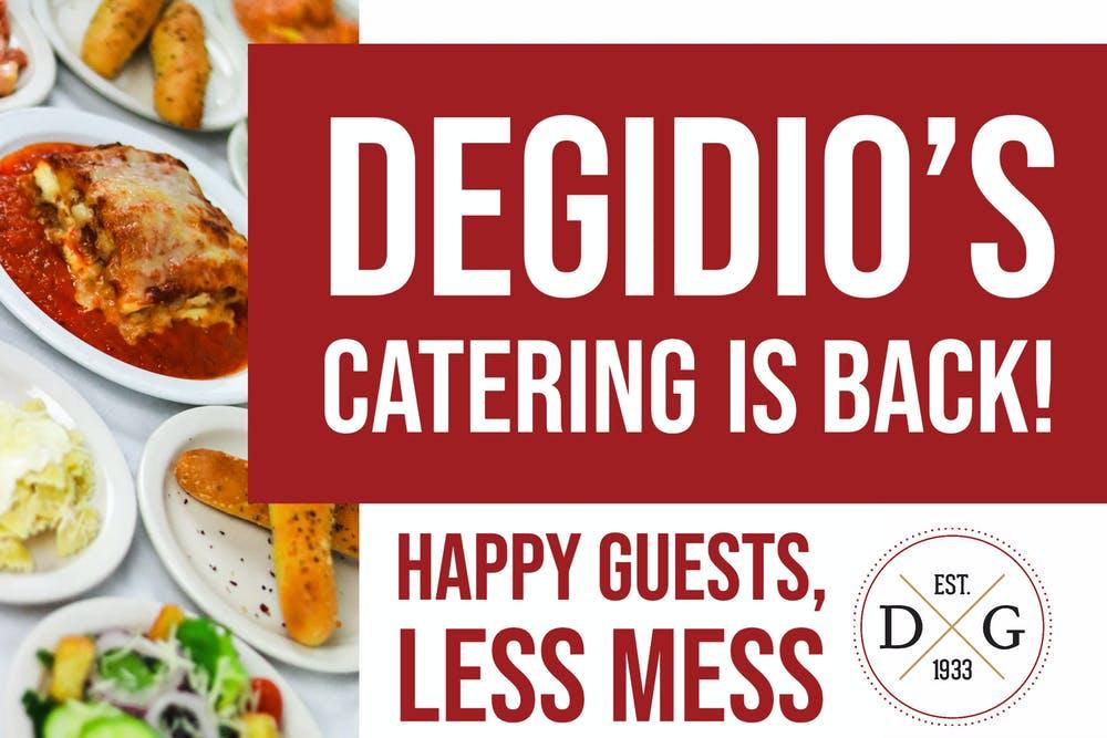 Degidio's Catering is Back
