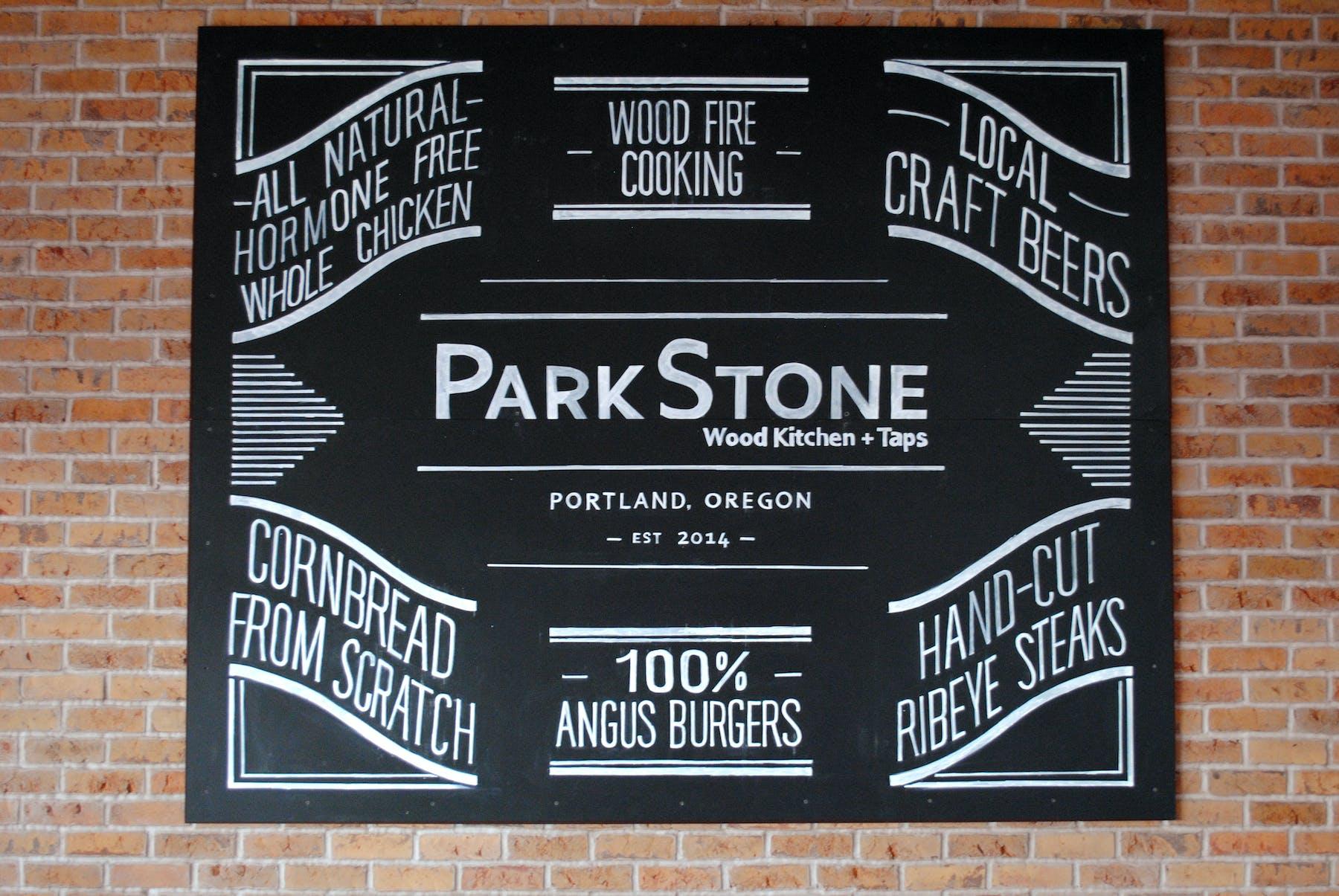 Paskstone's chalkboard decore
