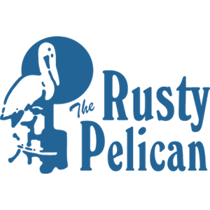 The Rusty Pelican Tampa logo