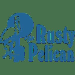 The Rusty Pelican Tampa logo