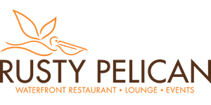 The Rusty Pelican logo
