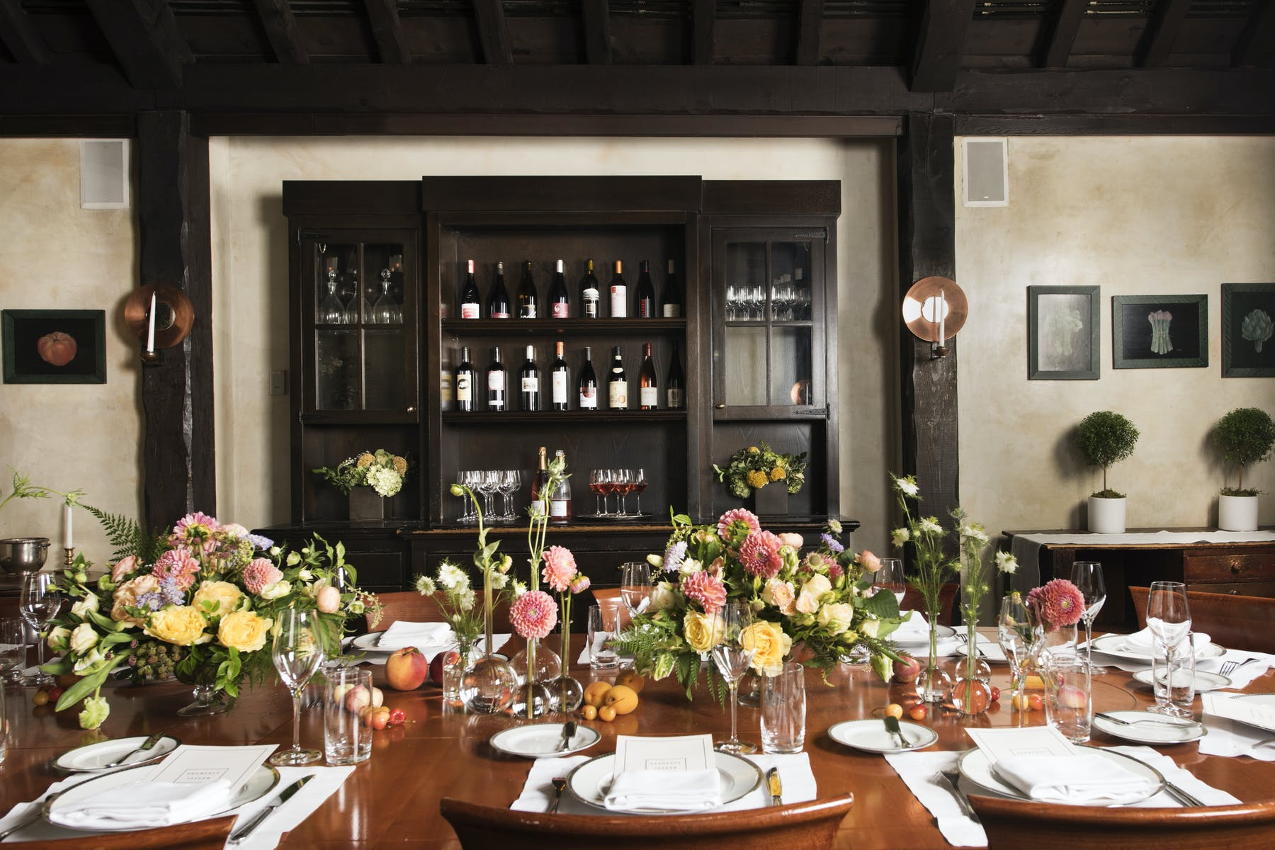 Private dining rooms provide a beautiful backdrop for your private event
