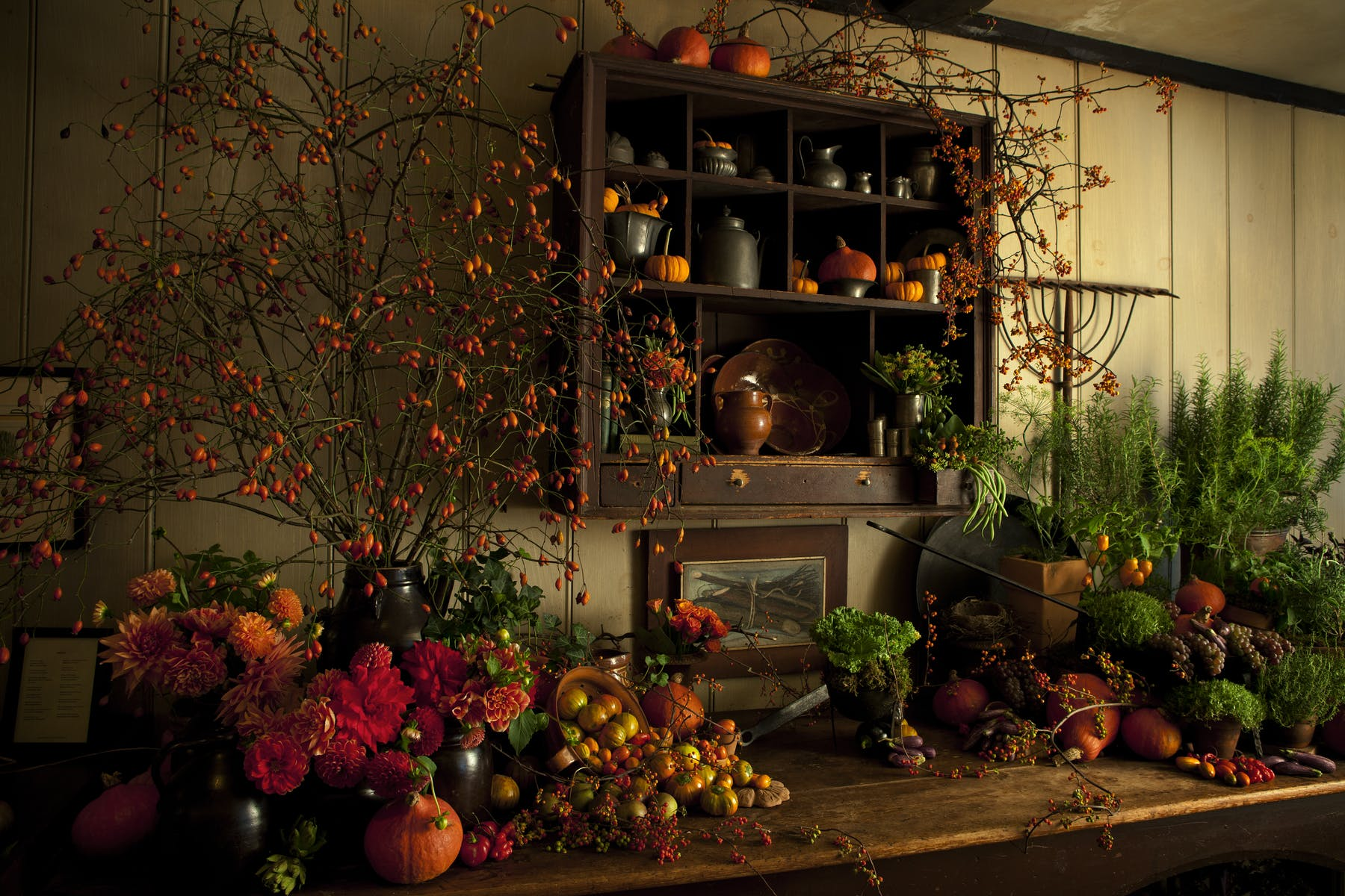 The Gramercy Tavern harvest table
