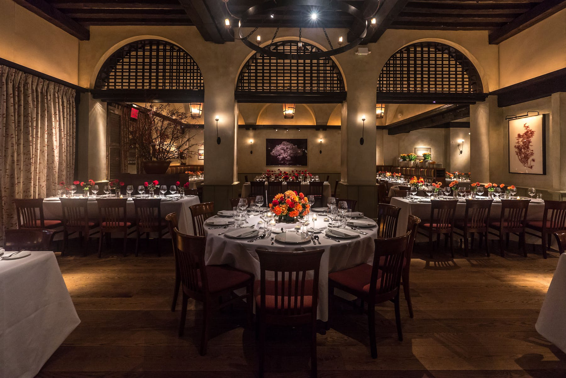 Private events in New York