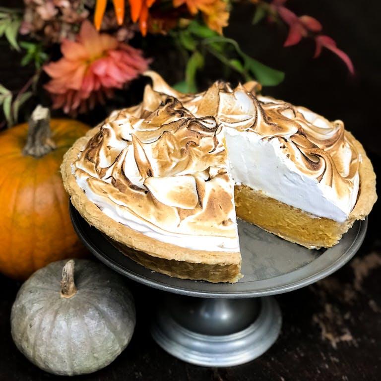 Gramercy Tavern Pumpkin Meringue Pie
