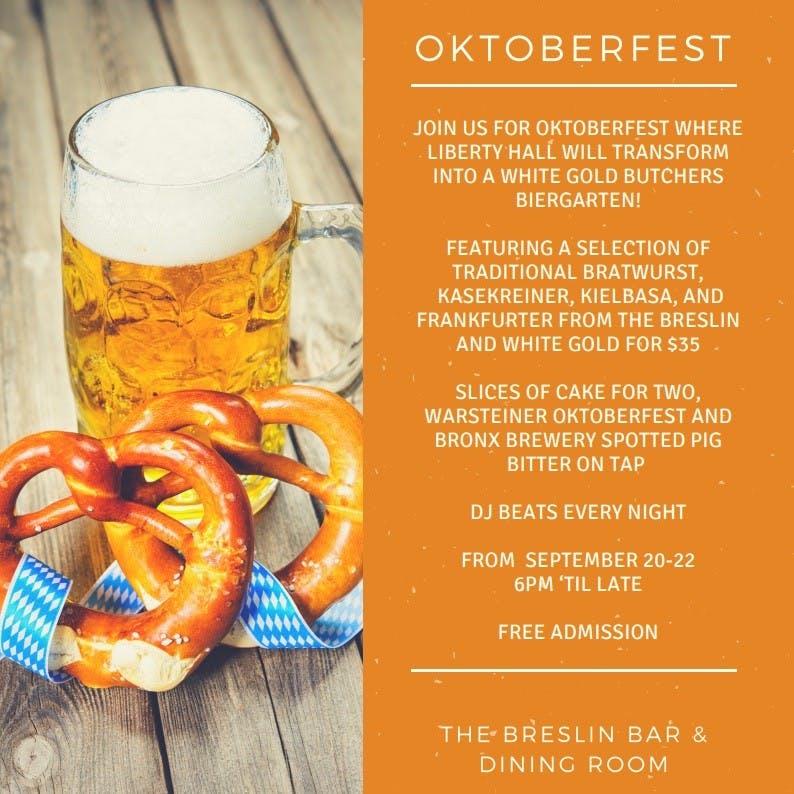 Oktoberfest In Liberty Hall