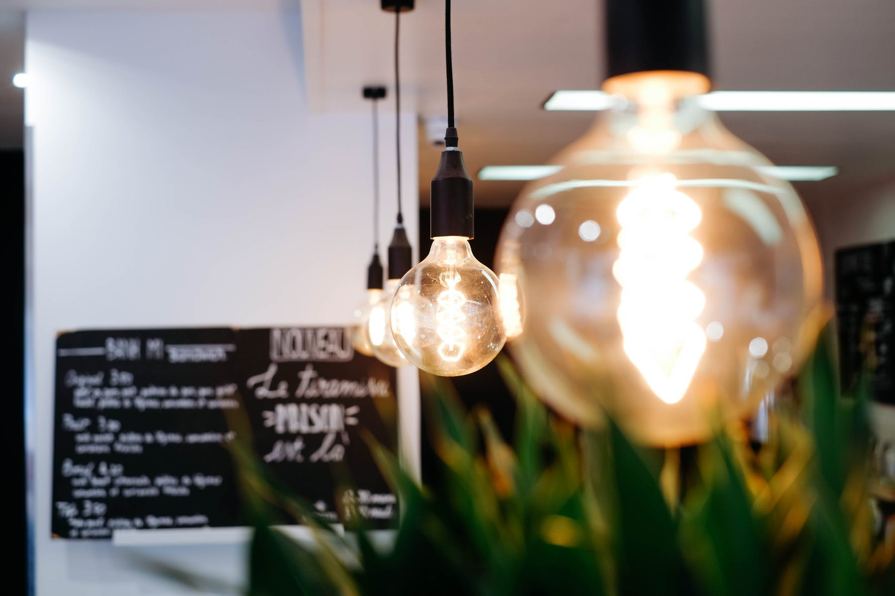 Light lamps.