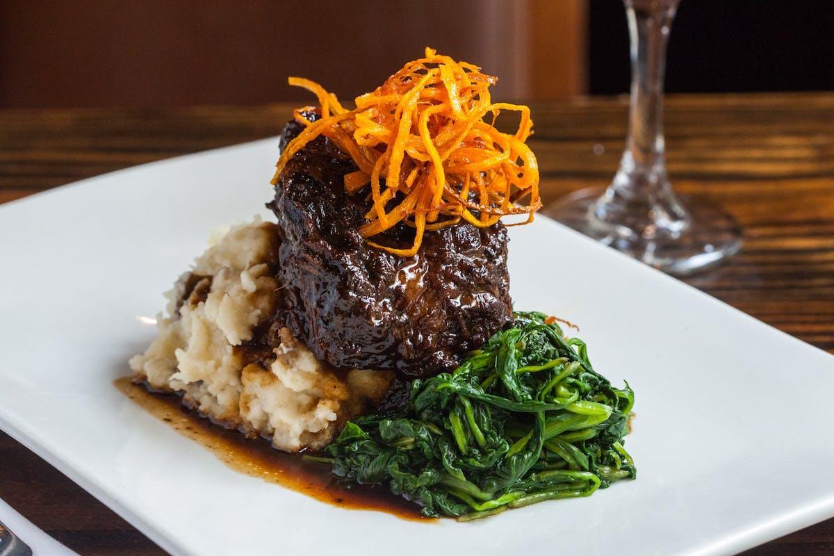 steak dinner entree