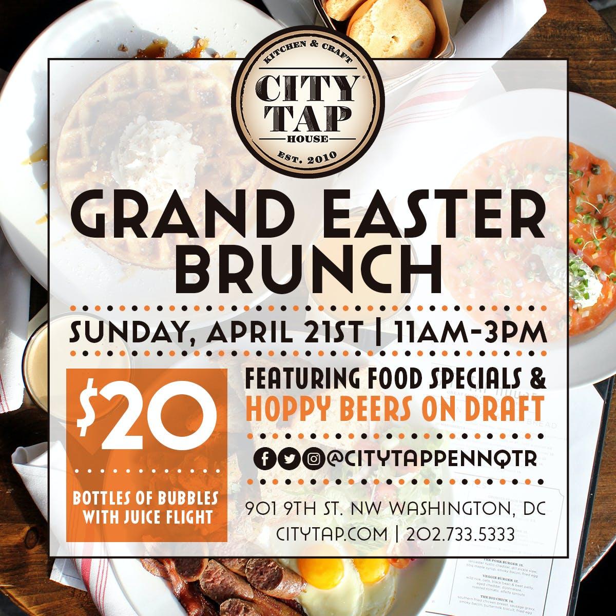 Easter Brunch City Tap House