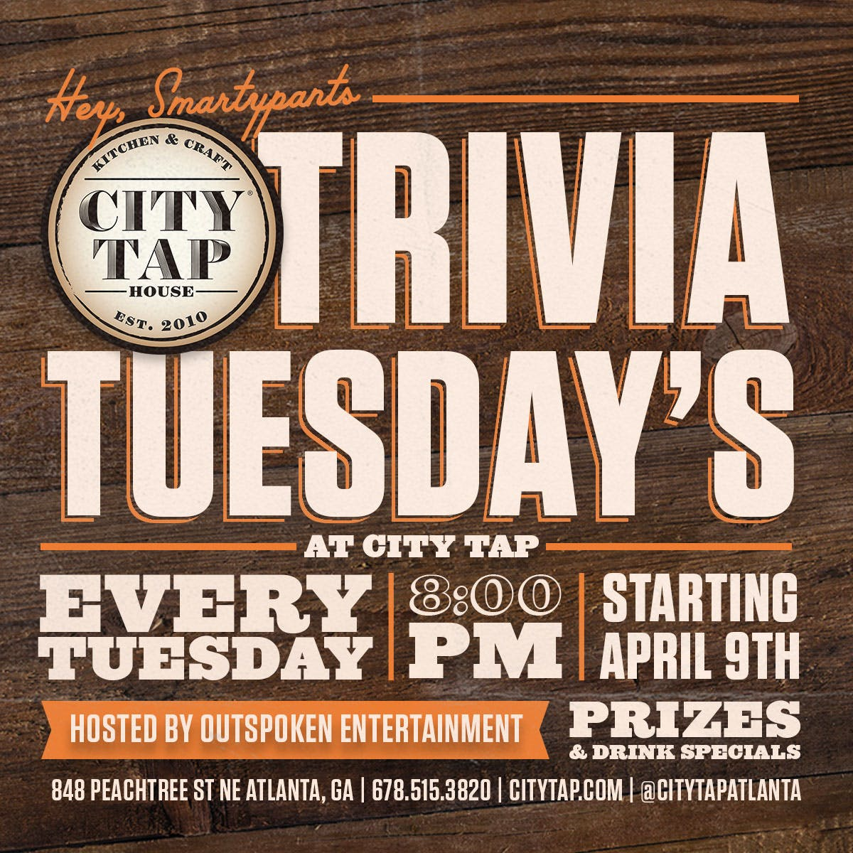 Trivia Tuesday | City Tap House