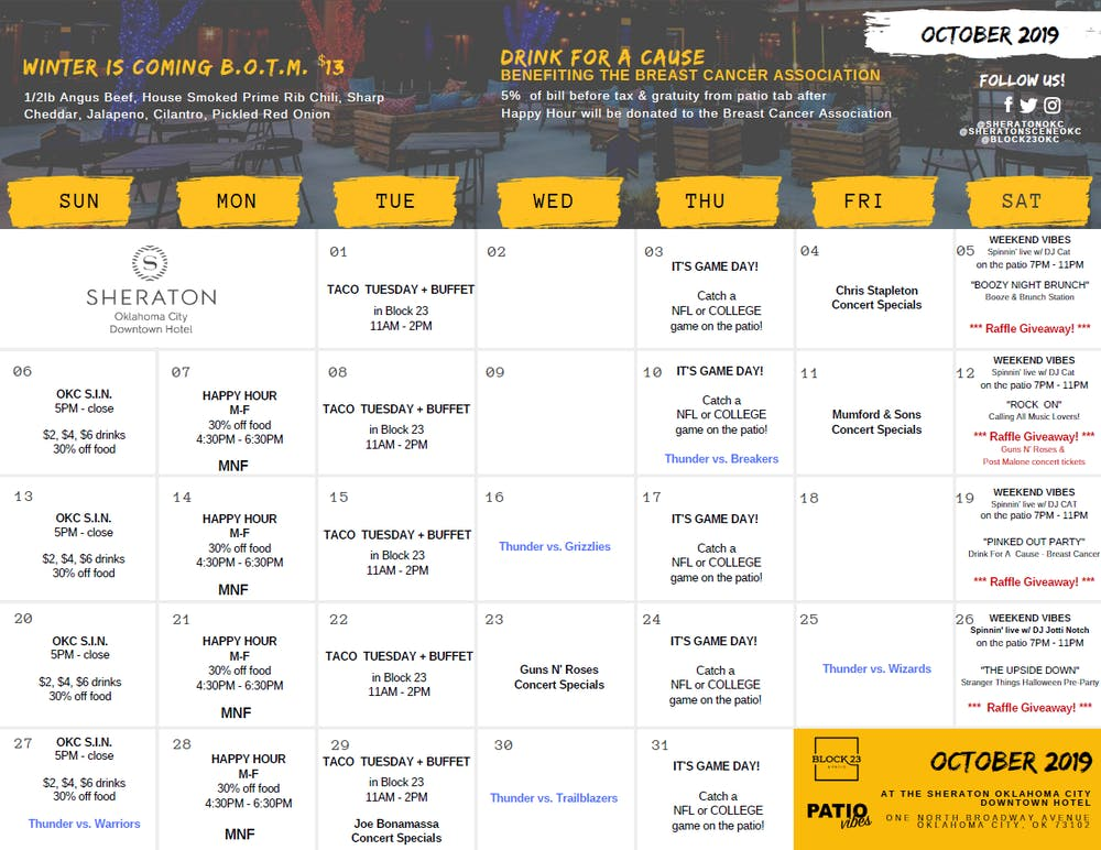 Oklahoma City Events