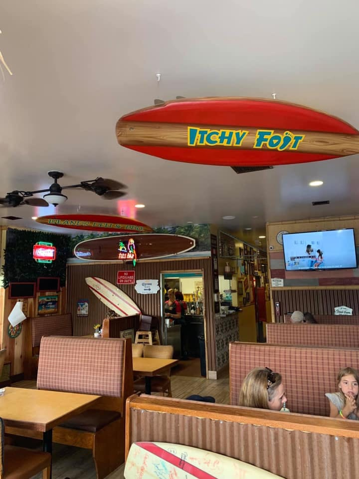 Itchy Foot restaurant
