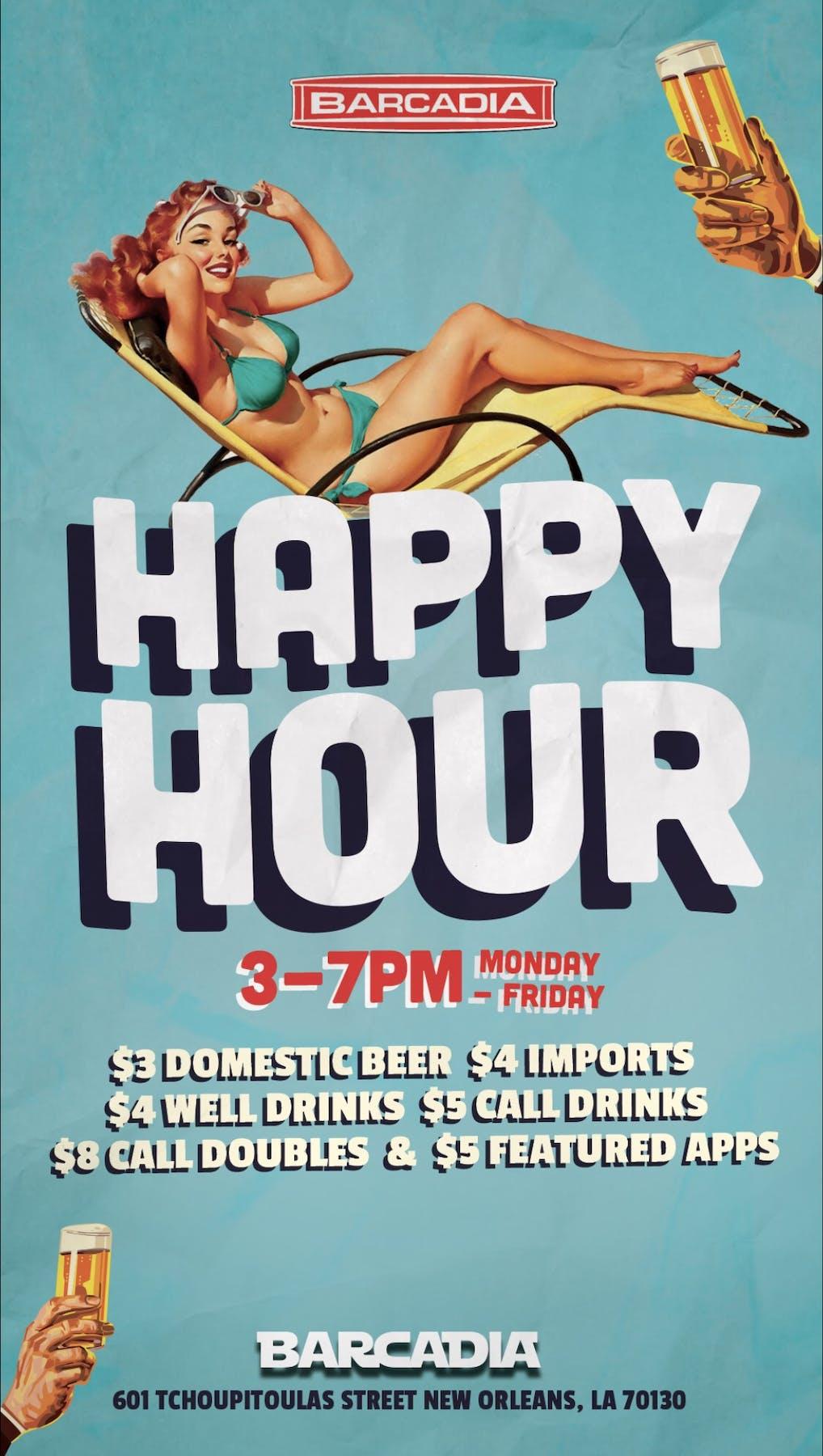 Happy Hour Barcadia