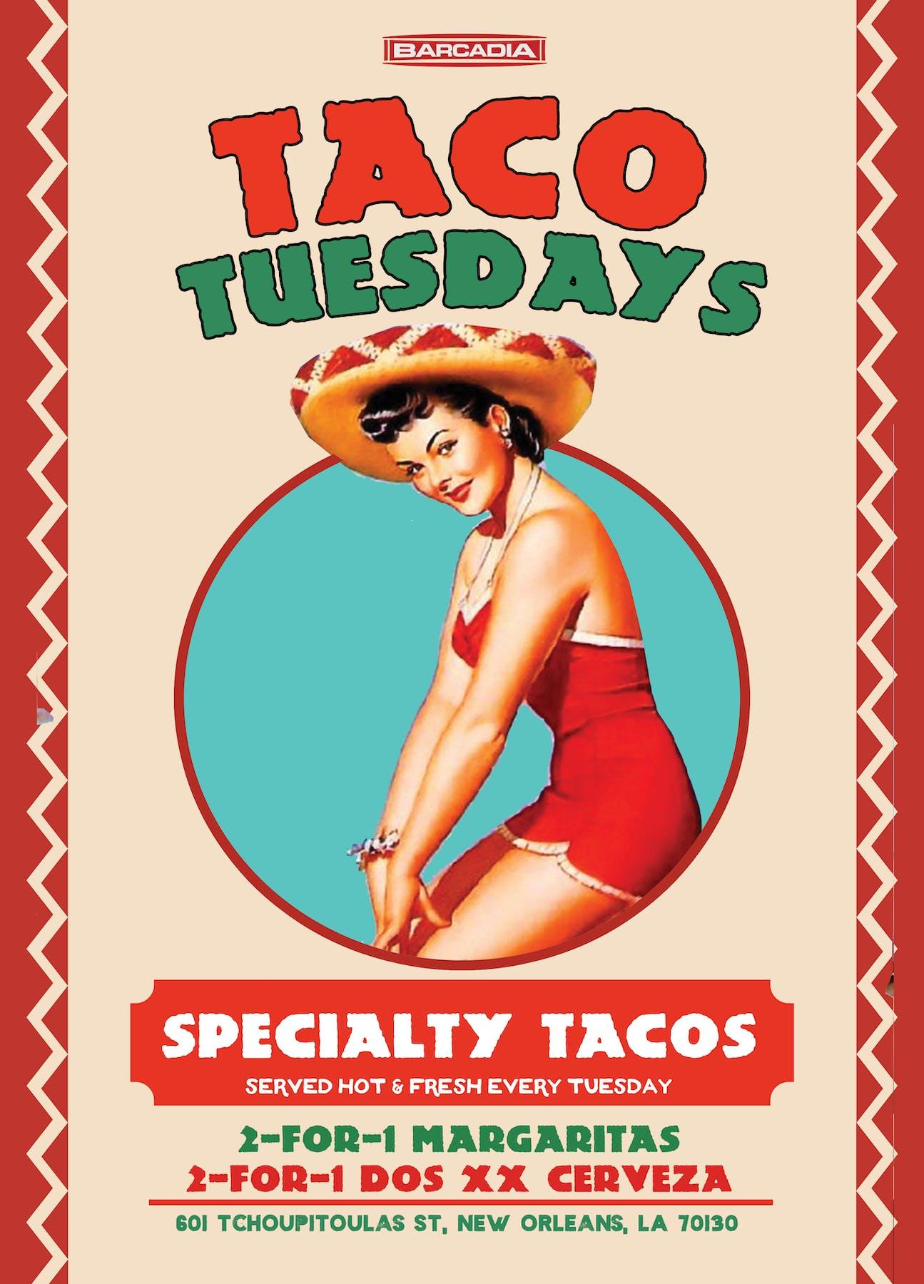 Taco Tuesdays Barcadia