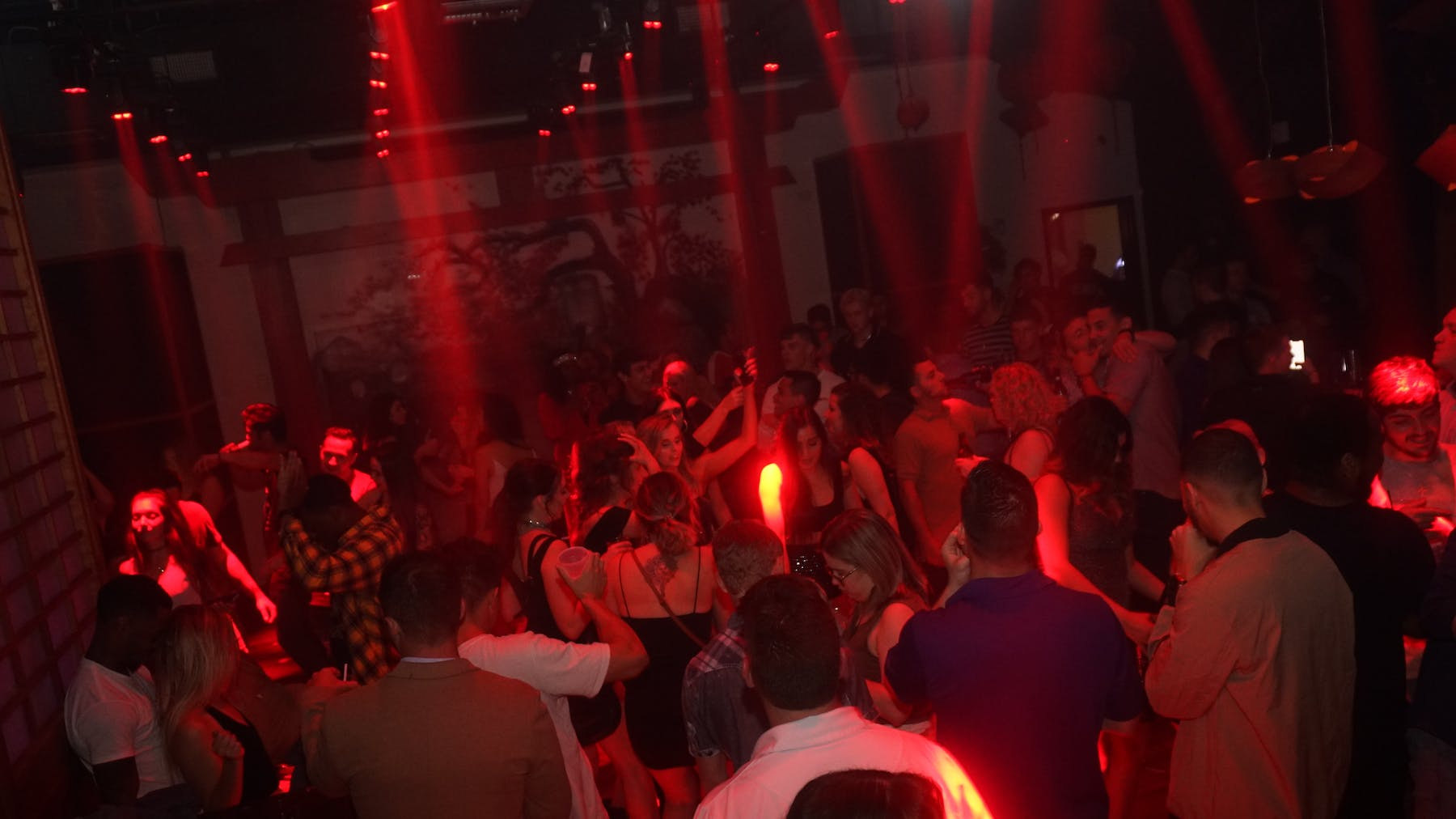 People Dancing at Ohm Lounge