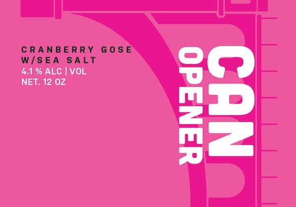 Can Opener drink logo