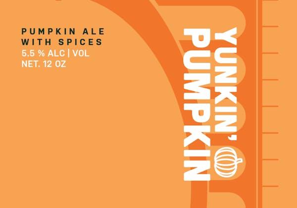 Yunkin' Pumpkin (Seasonal) drink logo