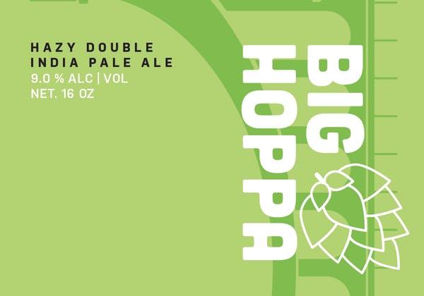 Big Hoppa drink logo