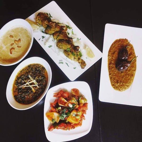 What all is served in saffron Indian restaurant orlando?