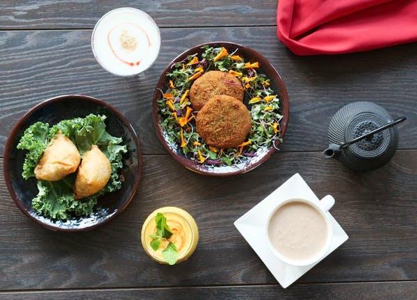 Some popular dishes at Saffron Indian restaurant Orlando