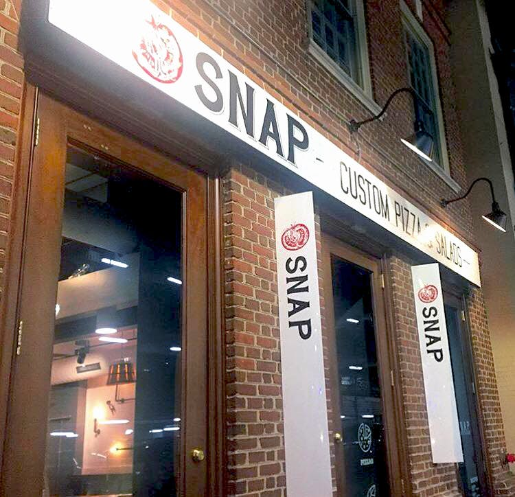 Exton | Hours + Location | Snap Custom Pizza