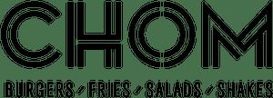 Chom Burger logo