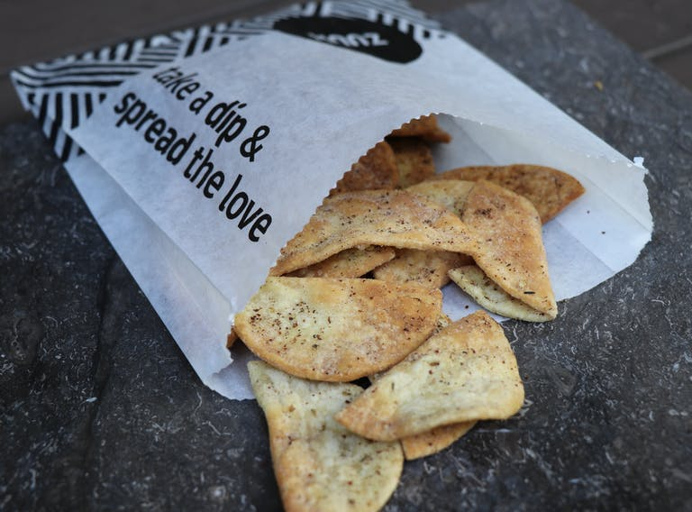 zuuk mediterranean kitchen pita chips