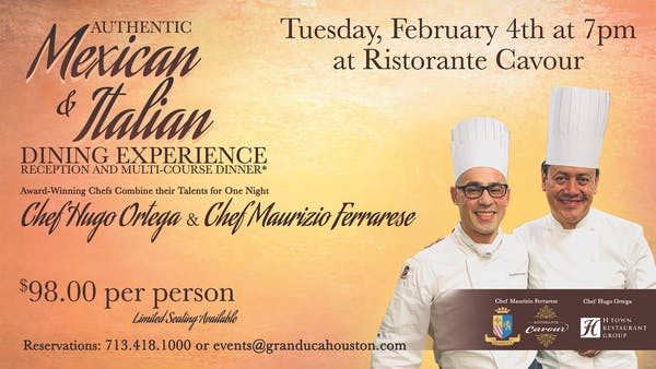 Guest Chef Dinner with Chef Maurizio Ferrarese