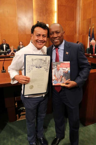 Chef Hugo Ortega Day in Houston: June 20