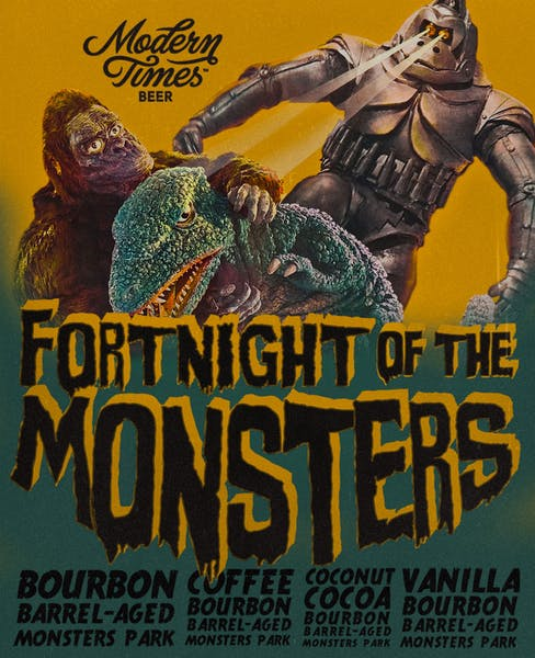 May 27, 2016: Fortnight Of The Monsters