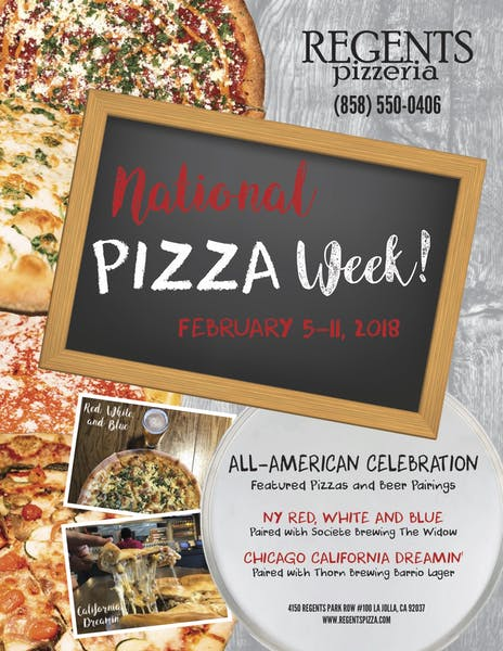 National Pizza WEEK...seriously?!