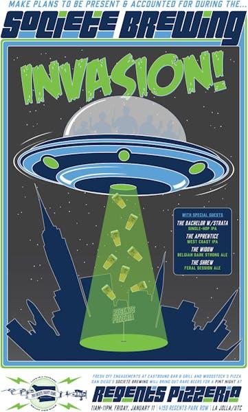 Societe Brewing Invasion