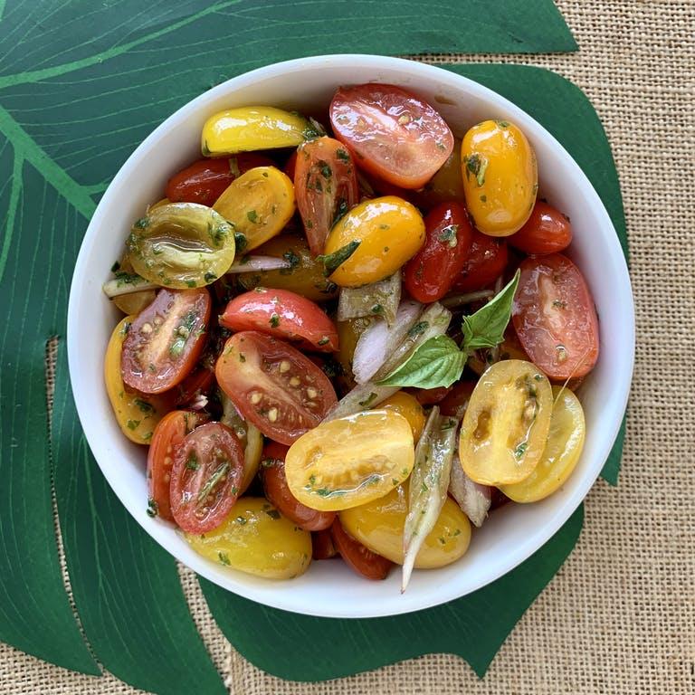Grape Tomato Basil