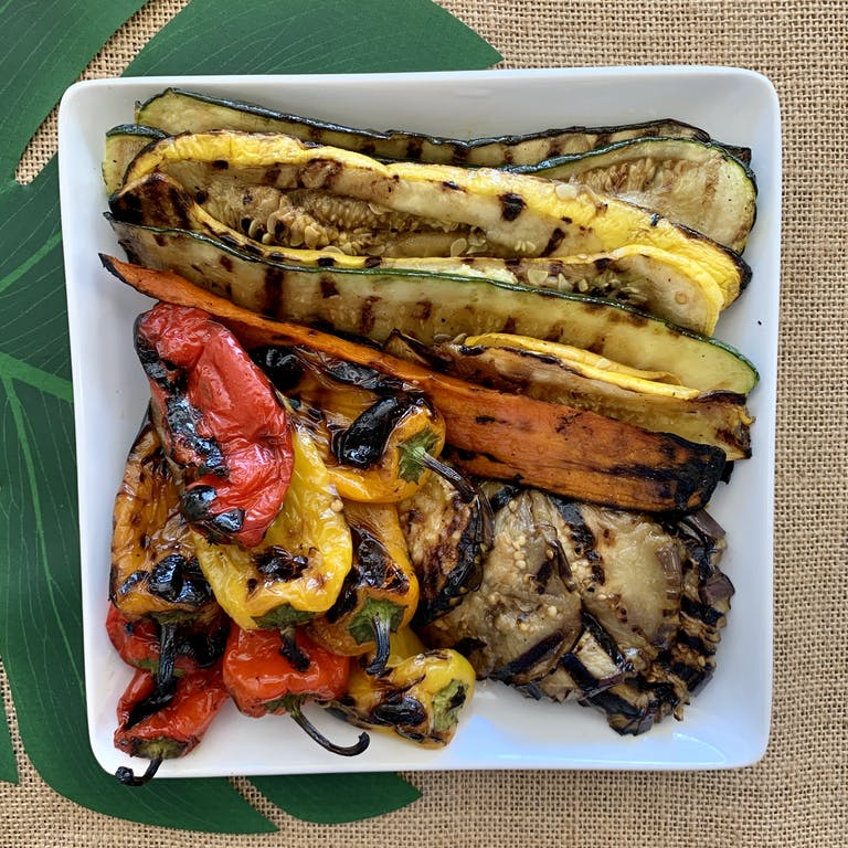 Fire Grill Assorted Vegetables