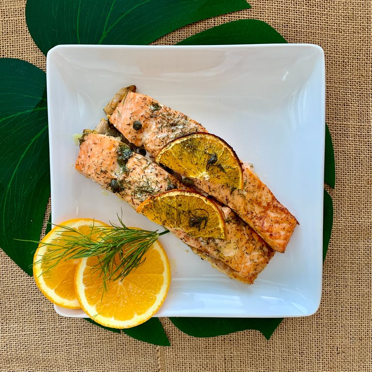 Salmon Orange Dill