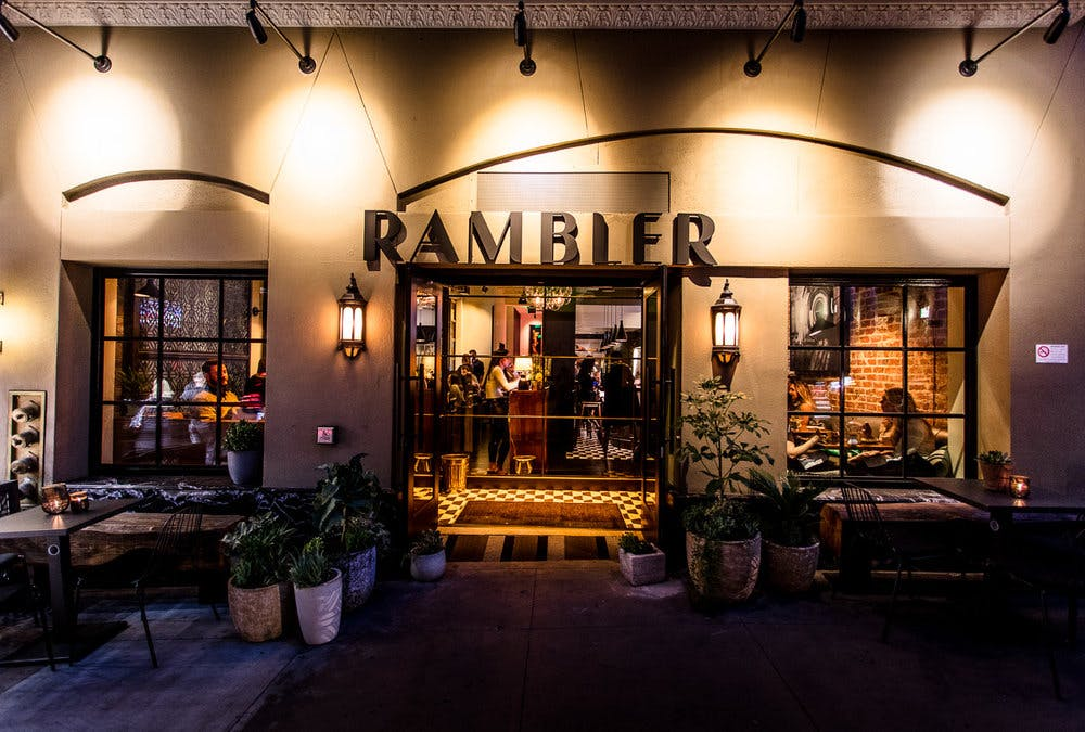 the rambler's front door