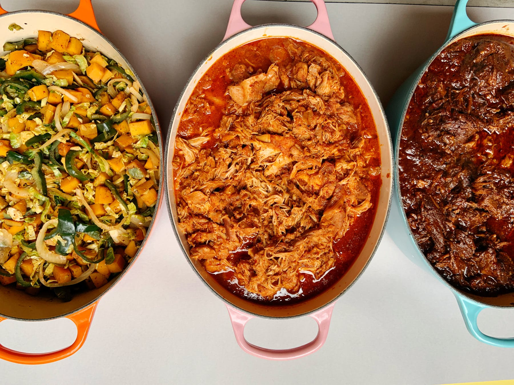 casseroles with taco fillings