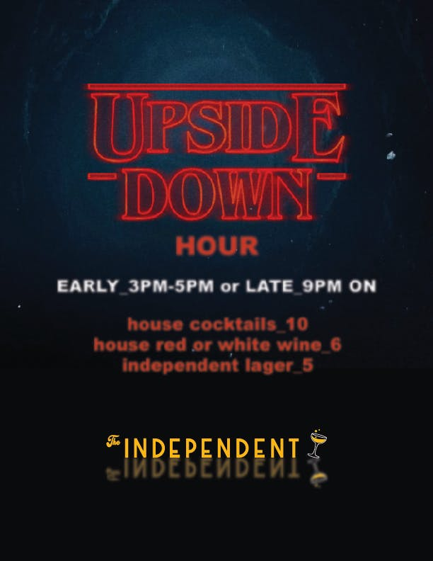 Introducing Upside Down Hour