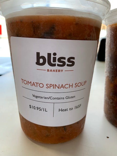 Bliss made soups