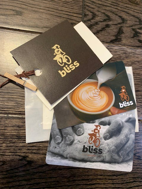 Purchase Bliss Gift Cards