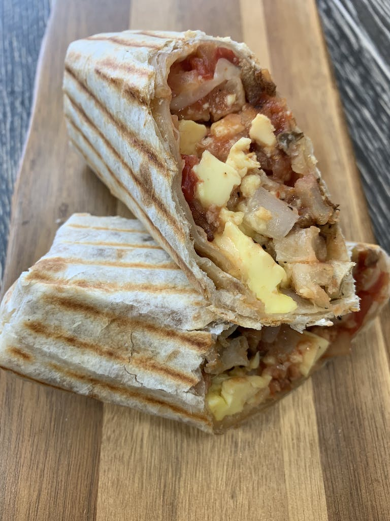 Breakfast Wrap in organic tortilla