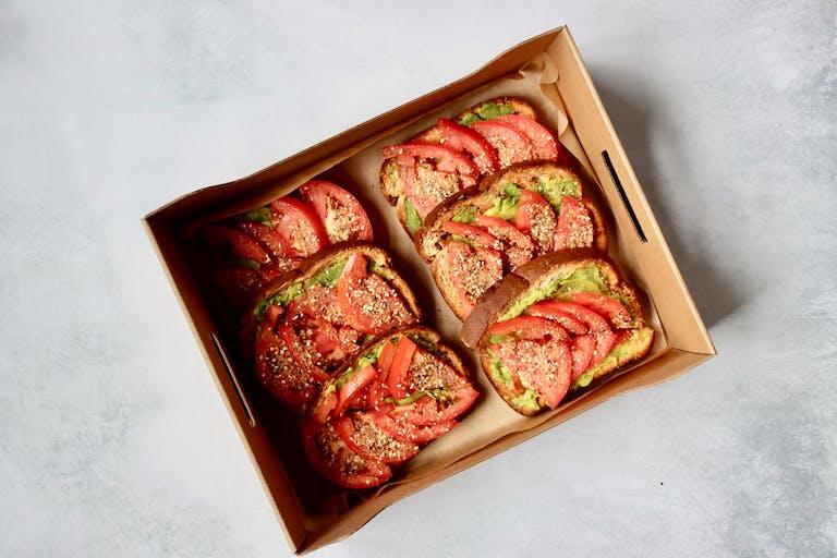 saxbys [This is Everything] Avo Toast box