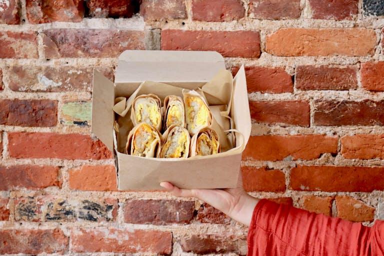 The breakfast burrito box