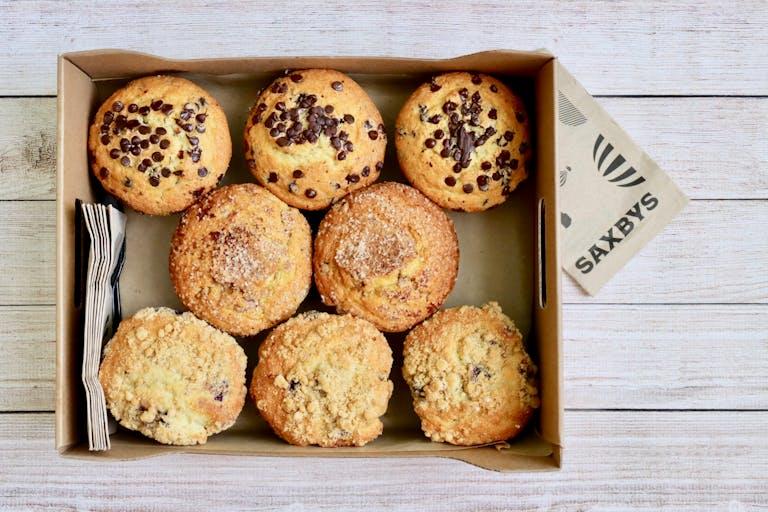 a box of muffins