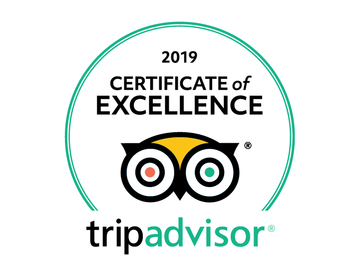 2019 Certificate of Excellence by Trip Advisor for Circa Bistros Foggy Bottom