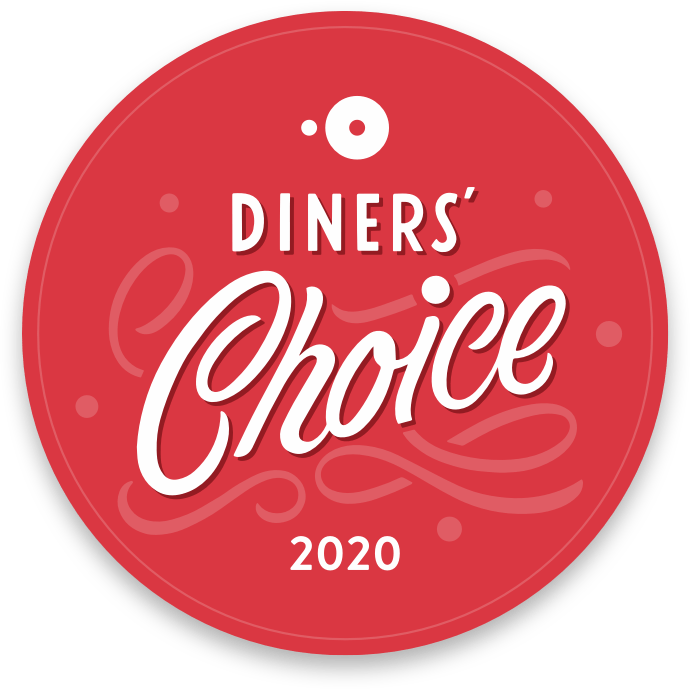2020 Diners Choice award for Circa at Foggy Bottom
