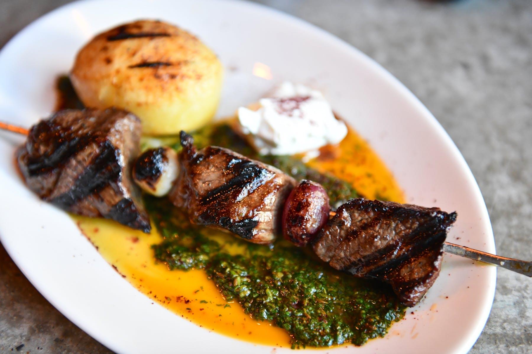 beef sirloin kebab